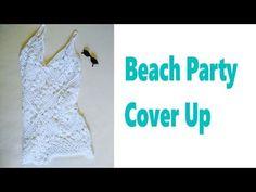 6feb765c6e66 Crochet  Grannysquare Beach   Swimsuit Cover Up