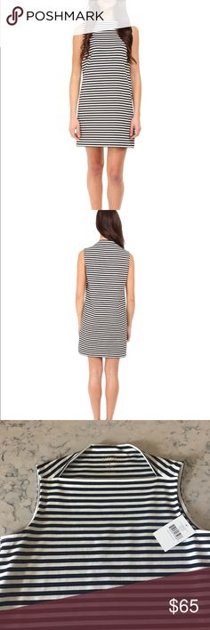 NWT Kate Spade Striped Everyday Shift Dress in XS NWT Kate Spade striped Shift dress in XS. Black and white stripes. A great Everyday dress for whenever! I love this but it's too small for me. kate spade Dresses