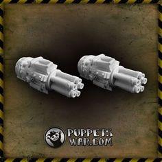 ORC GATLING GUN - pair