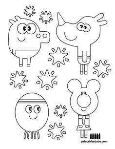 Free Printouts For Coloring – Printable Coloring Pages Free Coloring Pages, Printable Coloring Pages, Coloring Sheets, Coloring Books, Coloring Pages For Teenagers, Coloring Pages For Kids, Kids Colouring, 4th Birthday Parties, Birthday Fun