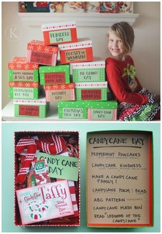 Traditions Make 12 Days of Christmas Boxes and 25 Christmas Traditions to Start Right Now on Frugal Coupon Living!Make 12 Days of Christmas Boxes and 25 Christmas Traditions to Start Right Now on Frugal Coupon Living! Christmas Traditions Kids, 25 Days Of Christmas, Christmas Gifts For Kids, Christmas Countdown, Winter Christmas, Christmas Decorations, Christmas Boxes, Christmas Vacation, Christmas Eve Box Ideas Kids