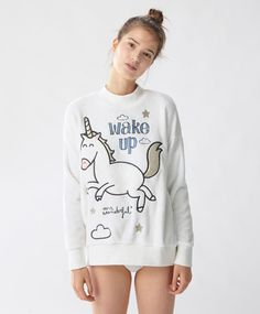 Mr. Wonderful sudadera unicornio