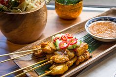 The best Thai restaurants in Toronto have come a long way since the days of overcooked rice noodles and ketchup in pad Thai. Best Thai Restaurant, Rice Noodles, Thai Recipes, Places To Eat, Tandoori Chicken, Finger Foods, Toronto, Restaurants, Good Things
