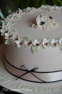 Peggy Porschen style cake!