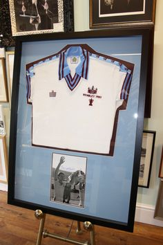 Classic shirt with signed photo - double sided