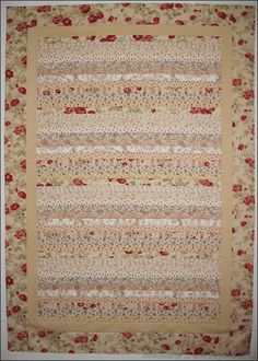 shabby chic quilts | Shabby Chic Quilt Top | Needlearts … and beyond