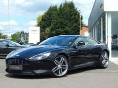 Used 2012 (11 reg) Black Aston Martin DB9 V12 2dr Touchtronic Auto for sale on RAC Cars