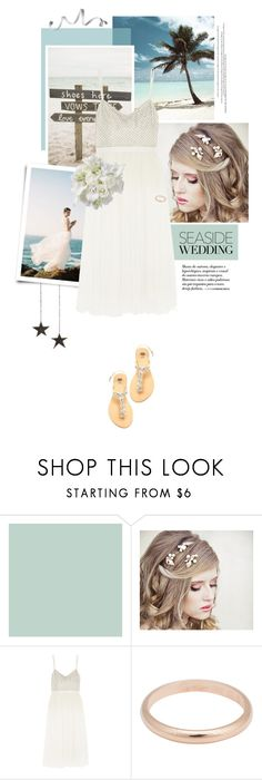 """""""Seaside Wedding"""" by pippi-loves-music ❤ liked on Polyvore featuring Needle & Thread, UGG Australia and Cartier"""