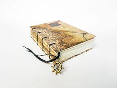 Old World Map - Small Travel Journal, Notebook, Sketchbook by missArAyA on Etsy