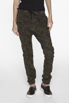 Camo Drop Crotch Pant - Veer NYC