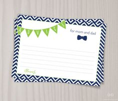 Little Man Baby Shower Game, Baby Shower Advice Card, Mom Dad Mommy Bow Tie PRINTABLE, Boy Baby Shower, Chevron, Lime Green and Navy bowties on Etsy, $4.00