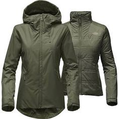 75c6c367ceee The North Face Clementine Triclimate Jacket - Women s