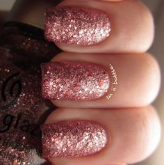 this blog has the best glitter nail polishes! i need them!