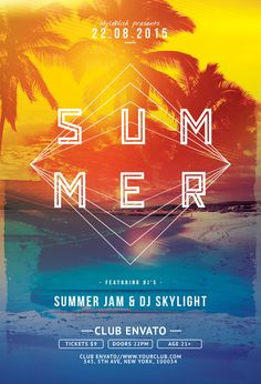 Summer Flyer by styleWish (Download PSD file / $9)