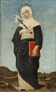 Tumblr - 'St. Catherine of Sienna', Unknown Italian, late 15th cent.