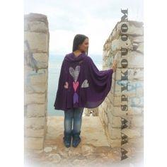 """Γυναικείο αμάνικο φόρεμα μάξι με γιακά """"Ζωγράφος"""" - Φορέματα - Φθινόπωρο - Χειμώνας - Ενδύματα - ΓΥΝΑΙΚΑ Χειροποίητες Δημιουργίες"""