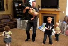 A Utah dad is getting attention after posting a parody video online that shows off his daddying skills.