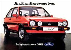 Fiesta Xr2 Mk1 - retro