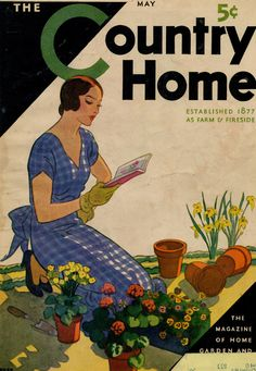 Country Home cover ~ May, 1930