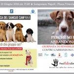 Napoli : Contro l'abbandono dei cani, iniziativa di sensibilizzazione sabato 21 in piazza Vittoria