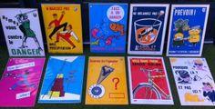 affiches sécurité atelier 3... Baseball Cards, Veil, Alcohol, Posters, Atelier