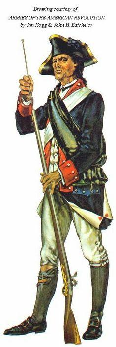revolutionary american sodlier