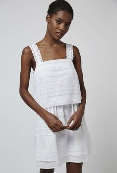 Two Piece Crochet Dress by Topshop | Brides.com