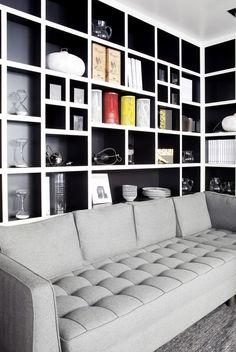 Home Library Ideas Room Ceilings 19 Ideas Wall Decor Living Room, Shelving, Home, Living Decor, Living Room Shelves, Home Library, Interior, Living Room Decor, Interior Design Bedroom
