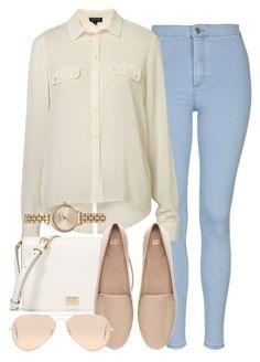 """""""Style #10392"""" by vany-alvarado ❤ liked on Polyvore featuring Topshop, Dolce&Gabbana, Zara, Ray-Ban and Olivia Burton"""