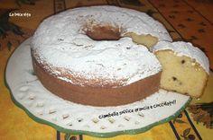 Ciambella #soffice #arancia e #cioccolato!