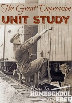 Use this FREE Unit Study to learn about the Great Depression! via @Rachel…