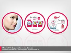 Material POP. Colgantes Farmacias. Sensibio  Laboratoire Dermatologique Bioderma. By Brandforce