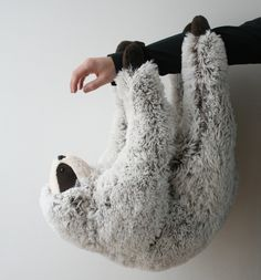 Sloth Stuffed Animal on Etsy #toy #children #kids