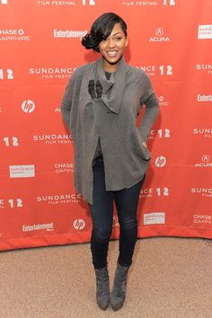 Actress Meagan Good attends the LUV premiere during the 2012 Sundance Film Festival. (Photo by Jemal Countess/Getty Images)