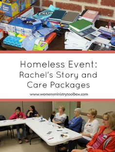 Back in the fall our women's ministry team held an event focused on the homeless in our area. We invited Urban Ministries to come and share about the work they do. After their presentation we assembled Care Packages for the Homeless. We could have easily assembled the Care Packages on our own, but it was …