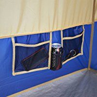 Large Camping Tent Outdoor Picnic Travel Family Cabin House 14 Person 4 Room Blue Sleep up to 14 campers in this large base camp straight wall tent. It sets up easily with 2 people in 20 minutes. It features awesome ventilation with 4 doors an. Luxury Camping Tents, Yurt Camping, Best Tents For Camping, Cool Tents, Camping Hacks, Glamping, Family Tent, Family Camping, Big Family