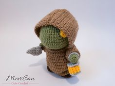 Crochet PATTERN PDF Amigurumi Final Fantasy Tonberry by MevvSan