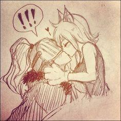 Fairy Tail - Bixlow and Lisanna - Sketch