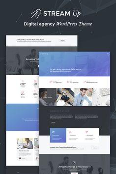 WordPress Template , StreamUp - Digital Agency