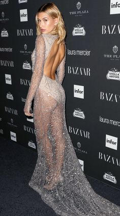 Sure, these dresses are gorgeous from the front – but it's the rear view that had us hooked