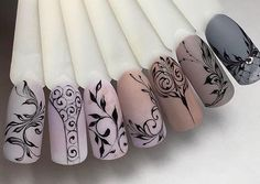 essie gel couture nail polish, take me to thread, taupe nude nail polish, fl. Neutral Nails, Nude Nails, Matte Nails, Gel Nails, Acrylic Nails, Neutral Colors, New Nail Designs, Flower Nails, Nail Arts