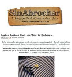 Sin abrochar | Blog Camisas Rushmore