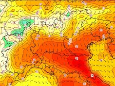 temperature 19 giugno a Nord #meteo