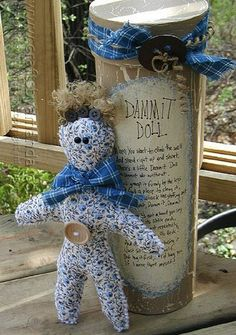 How To Make A Dammit Doll   Giving dammit dolls is an old tradition that will often bring a smile to the face and a bit of charm to a well-crafted gift.