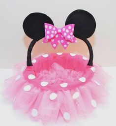 Pretty Pink Minnie Mouse Candy Basket DIY for Easter Source by feje Mickey Mouse Crafts, Minnie Mouse Birthday Decorations, Minnie Birthday, Disney Crafts, Minnie Mouse Rosa, Pink Minnie, Minnie Mouse Party, Fun Crafts, Crafts For Kids