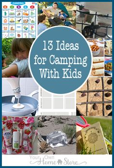 13 Ideas that simplify camping with Kids