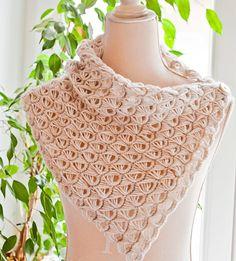 Free Pattern - Lace Cowl