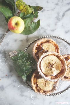 Tortine di mele // Apples tarts