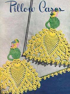 Pink Rose Crochês: Vintage Crinoline Girl