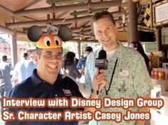 Interview with Disney Design Group Sr. Character Artist Casey Jones & New Contest!